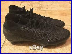 10.5 Nike Mercurial Superfly 7 Elite FG Black (AQ4174-001)