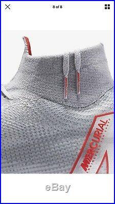 $275 Mens Nike Superfly 6 Elite FG soccer cleats 10.5 grey black cr7 mercurial