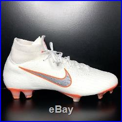 Mens Nike Mercurial Superfly 6 Elite FG Soccer Cleats + BAG AH7365-107 Size 9