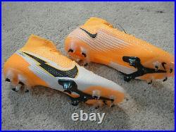 NEW NIKE Mercurial Superfly 7 Elite FG Soccer Cleats LASER ORANGE Mens Size 7.5