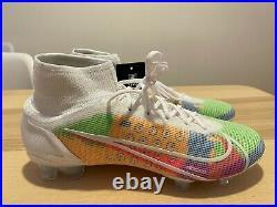NEW NIKE iD MERCURIAL SUPERFLY 8 multicolor soccer cleats futbol DD0317 110 Sz 9