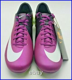 NEW Nike Mercurial Vapor iii Purple Superfly FG 441972 547 US Size 8