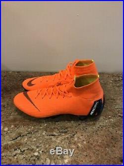 NIKE MERCURIAL SUPERFLY 6 ELITE SG AC'Total Orange' AH7366 810 Size 8