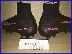 NIKE MERCURIAL SUPERFLY V elite SG PRO SOCCER CLEATS 831956-006 mens 9 sample