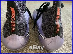 NIKE Mercurial Superfly SG/FG Lilac Soccer Cleats US Size 7.5 ACC