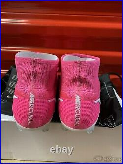 NIKE iD BY YOU MERCURIAL SUPERFLY 8 ELITE PINK DD0317 661 US 8M/ 9.5W