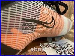 New Nike ID Mercurial Superfly 8 Elite AG ACC Soccer Cleats Orange Mens Size 8.5