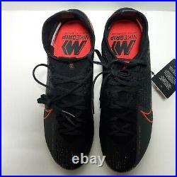 New Nike Mercurial Superfly 7 Elite FG Black Soccer Cleats Size 7 AQ4174-060