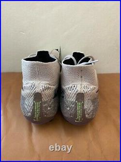 New Nike Mercurial Superfly 7 Elite SG Desert Sand-Purple Mens Size 9 AT7894-006
