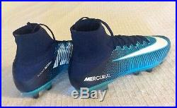 New Sz. 11 $300 Nike Mercurial Superfly 5 V AG-Pro Ice Pack Blue 831955-415 Elite