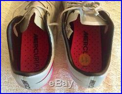 New! Sz. 11 Nike Mercurial Vapor X 10 Grey Pink Fg 648553-060 Superfly 360 Elite