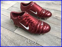 Nike Air Zoom Total 90 III Italy FG Boots Cleats Figo (Superfly Mercurial Vapor)