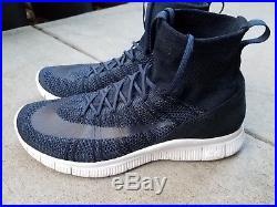 Nike Free Flyknit Mercurial Superfly Obsidian Blue Men's Size 9.5