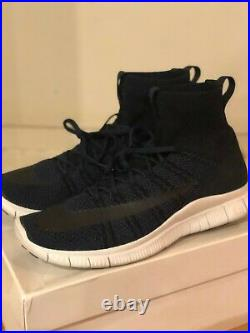 Nike Free Mercurial Superfly SP HTM Mens Size 10 Shoes White Blue 667978 441