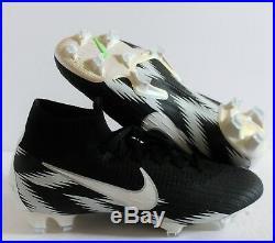 Nike Men Mercurial Superfly 360 Elite Fg ID Acc Black/white Sz 7 At2944-991