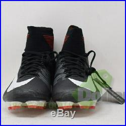Nike Men's Mercurial Superfly V DF FG Soccer Cleats Black WithDrawstring Bag (10)