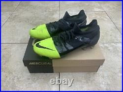 Nike Mercurial Green Speed GS360 Cleats Boots Botines Vapor Superfly US 11