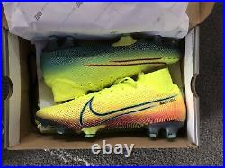 Nike Mercurial Superfly7 Elite MDS FG Lemon Venom BQ5469-703 Soccer Size 10