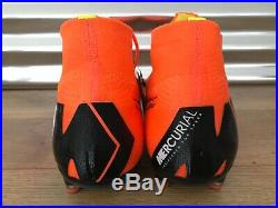Nike Mercurial Superfly 360 Elite AG PRO Soccer Cleats Orange Black (AH7377-810)