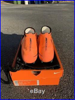 Nike Mercurial Superfly 4 Bright Mango FG Soccer Cleats Size 8.5