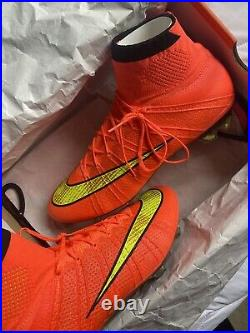 Nike Mercurial Superfly 4 IV Hyperpunch World Cup Colour Way 2014 Brazil