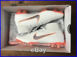 Nike Mercurial Superfly 6 360 Elite FG Soccer Cleats Size 8.5M Just Do It White