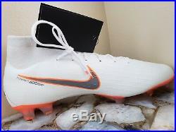 Nike Mercurial Superfly 6 360 Elite FG Soccer Total Orange AH7365-107 Sz 11