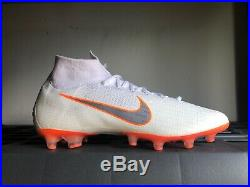 Nike Mercurial Superfly 6 Elite AG-Pro Mens Soccer Cleats AH7377 107 Sz 10.5
