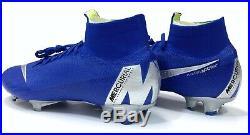Nike Mercurial Superfly 6 Elite FG 360 ACC Flyknit Racer Blue AH7365-400 GS5