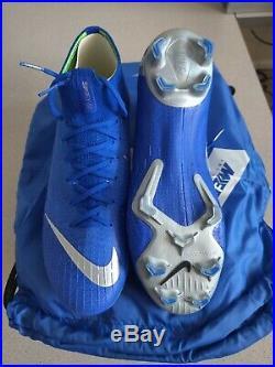 Nike Mercurial Superfly 6 Elite FG 360 ACC Flyknit Racer Blue Soccer AH7365-400