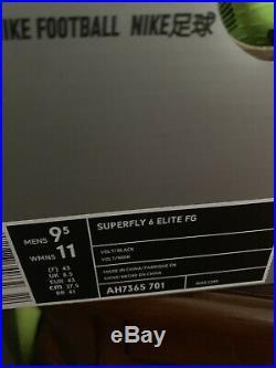 Nike Mercurial Superfly 6 Elite FG 360 ACC Flyknit size 9.5