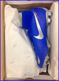 Nike Mercurial Superfly 6 Elite FG 360 AH7365-400 SoccerCleat Sz10, Racer Blue
