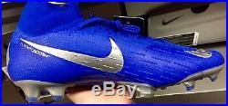 Nike Mercurial Superfly 6 Elite FG 360 AH7365-400 SoccerCleat Sz9.5, Racer Blue