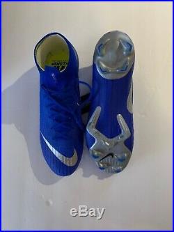 Nike Mercurial Superfly 6 Elite FG 360 AH7365-400 Soccer Cleats SZ 8.5 Blue