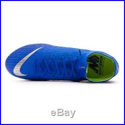 Nike Mercurial Superfly 6 Elite FG 360 Soccer Cleats Flyknit Vapor- Blue