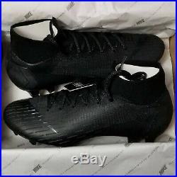 Nike Mercurial Superfly 6 Elite FG Black Soccer Cleats