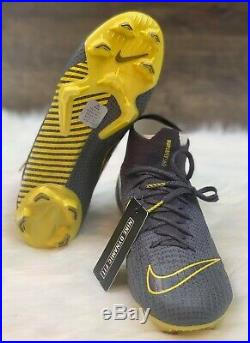 Nike Mercurial Superfly 6 Elite FG Men's Soccer Cleats Grey AH7365 070 Size 11
