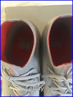 Nike Mercurial Superfly 6 Elite FG Size 10 (Worn Once) Grey/Crimson Color