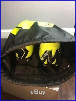 Nike Mercurial Superfly 6 Elite FG Soccer Cleats AH7365 701 Volt Black SZ 11.5