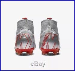 Nike Mercurial Superfly 6 Elite Fg Mens Soccer Cleats Grey Crimson Ah7365 060