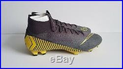 Nike Mercurial Superfly 6 Elite Fg Size Uk 10 Us 11 (ah7365-070) Thunder Grey