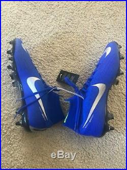 Nike Mercurial Superfly 6 Elite Mens SGPRO Soccer Cleats Anti Clog Blue Size 9.5
