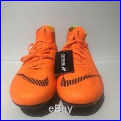 Nike Mercurial Superfly 6 Elite SG-PRO Anti-Clog Soccer Cleat sz 11 AH7366-810