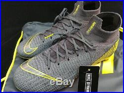 Nike Mercurial Superfly 6 Flyknit FG Mens Soccer Cleat Size 7 AH7365-070 $275