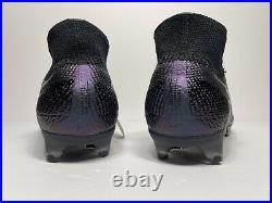 Nike Mercurial Superfly 7 Elite FG Black Soccer Cleats AQ4174-010 Men's Size 11