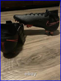 Nike Mercurial Superfly 7 Elite FG Black Soccer Cleats Size 9 AQ4174-060