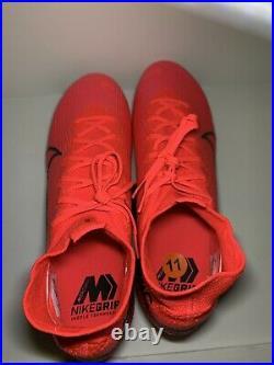 Nike Mercurial Superfly 7 Elite FG Crimson Soccer Cleats AQ4174-606 Size 11