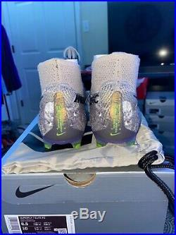 Nike Mercurial Superfly 7 Elite FG Desert Sand/Purple/Green