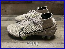 Nike Mercurial Superfly 7 Elite FG Desert Sand Soccer AQ4174-005 Men's Size 8