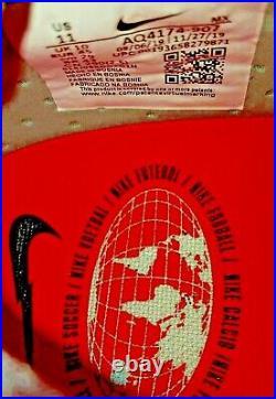 Nike Mercurial Superfly 7 Elite FG, Grey/Laser Crimson/Black Size11 AQ4174 906